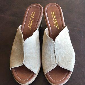 Mila Paoli Wedge Sandals
